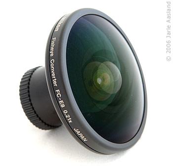 Nikon fisheye lenses fc e8 and nikkor for Fish eye lense