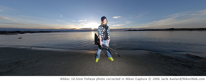 Nikon Fisheye Lenses Fc E8 And Nikkor 10 5mm