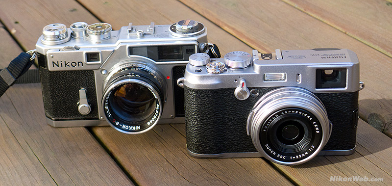 Fujifilm X100 - retro rangefinder